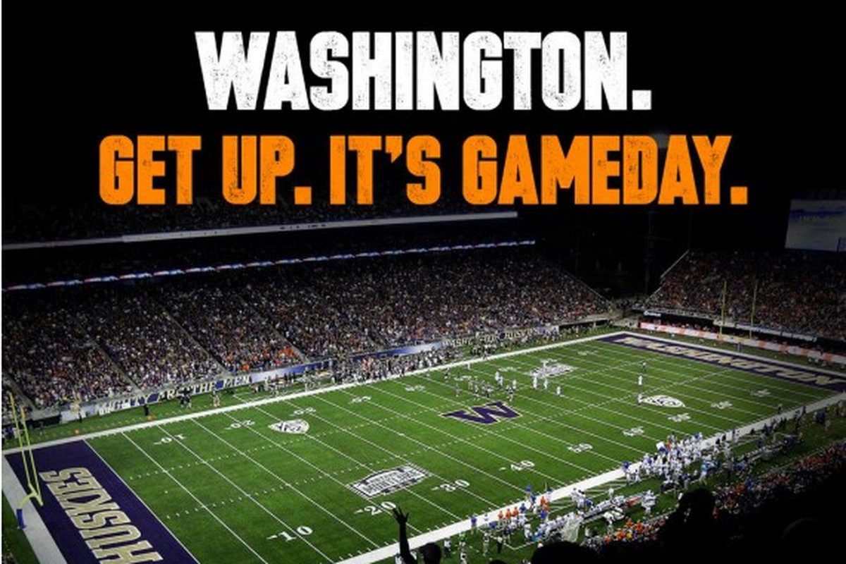 Gameday at UW.  Two epic programs, together.