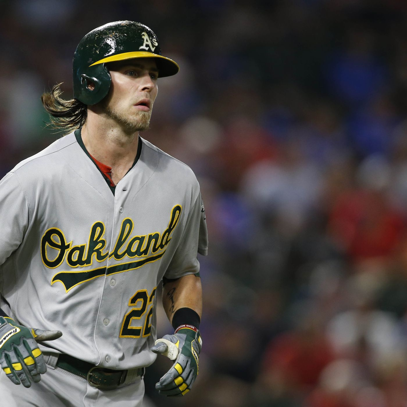 brand new 144ae 24822 Oakland A's trade Josh Reddick, Rich Hill to the Dodgers ...