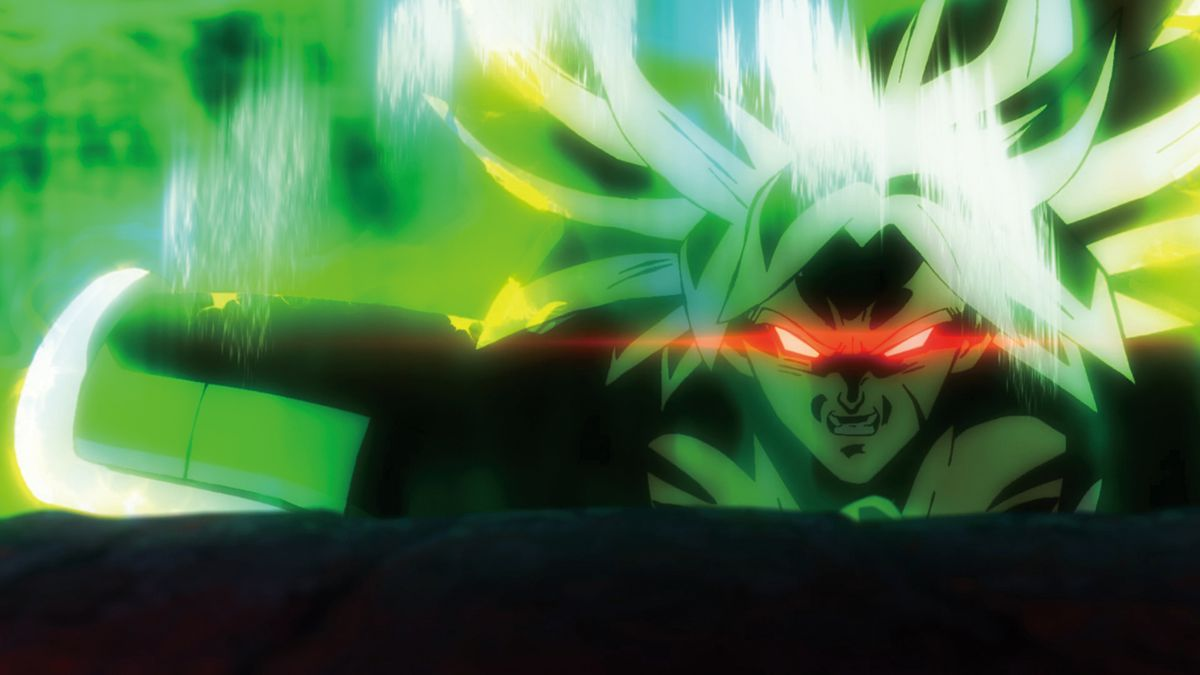 Dragon Ball Super: Broly - Broly as Legendary Super Saiyajin