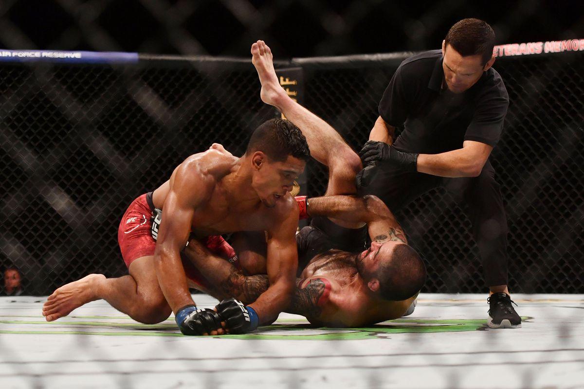 MMA: UFC Fight Night-Brown vs Baeza