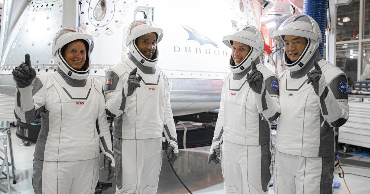 Four American astronauts plan to vote from space...