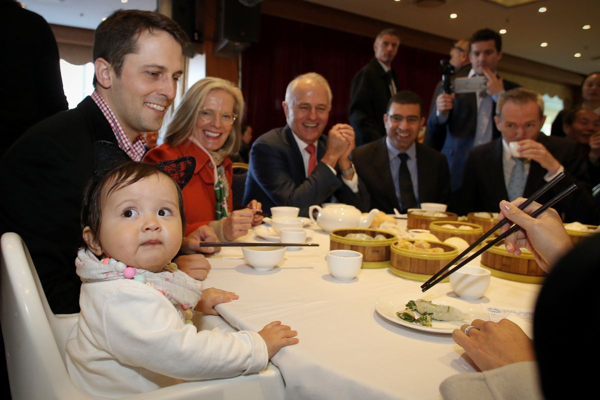 Malcolm Turnbull Campaigns In Sydney As Liberal Party Apologises For Fundraising Gaffe