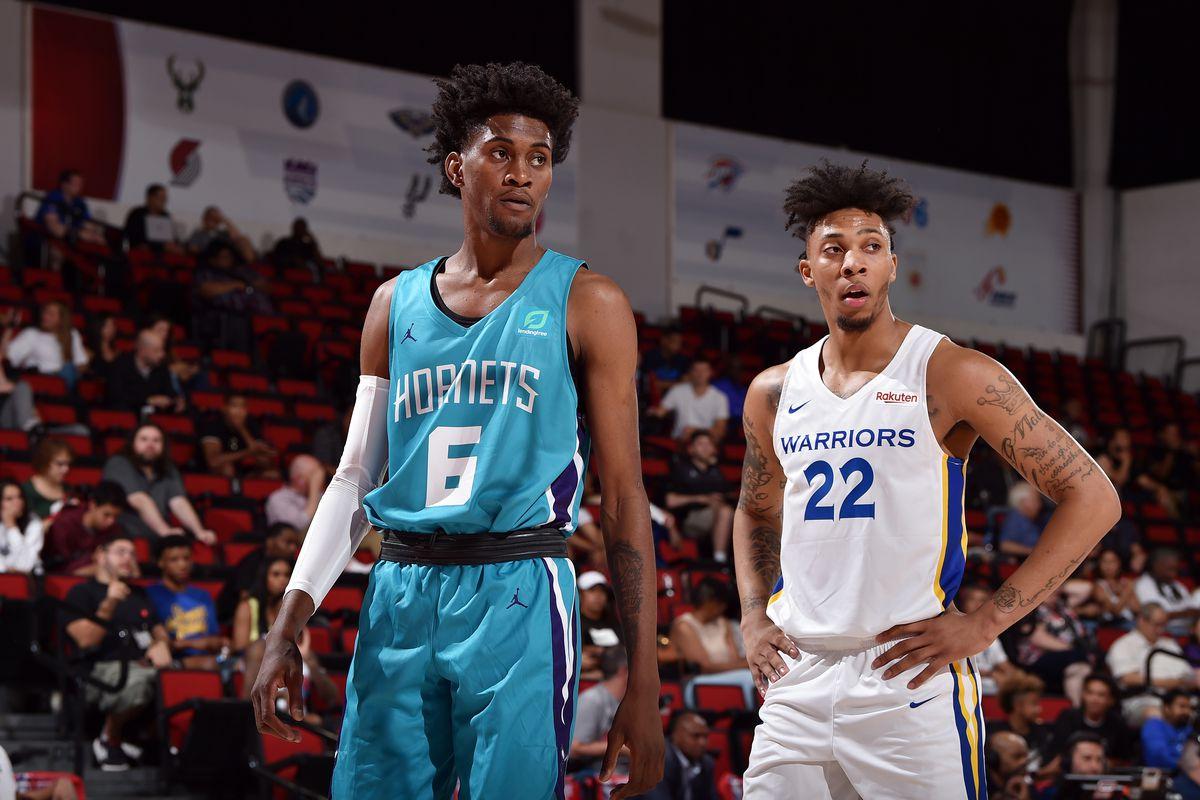 2019 Las Vegas Summer League - Day 1 - Charlotte Hornets v Golden State Warriors