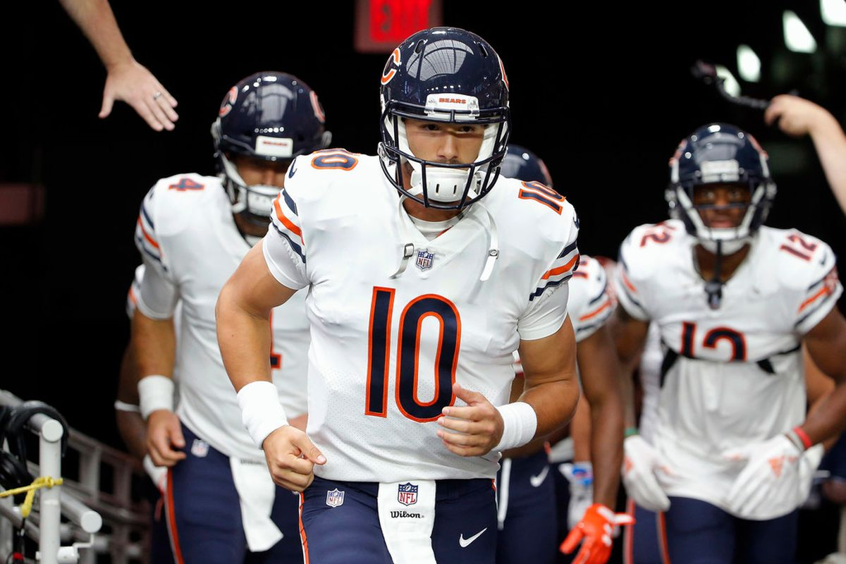 Ryan Pace said Tuesday that Mitch Trubisky will be back as starting QB in 2020.