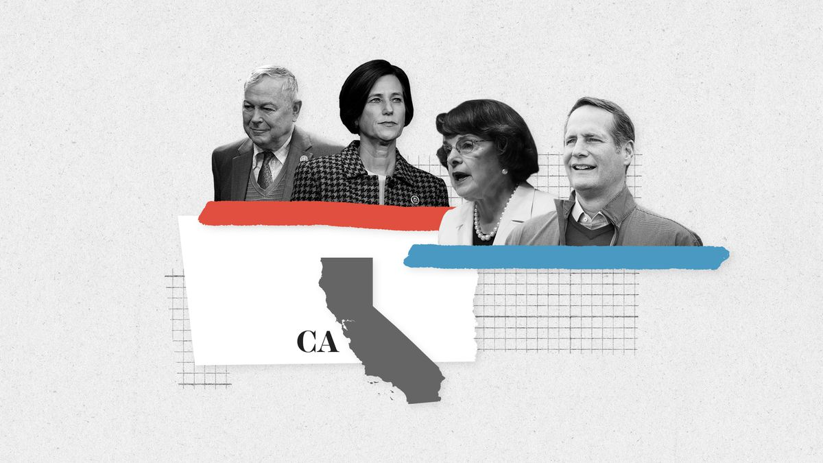 The House races in California could make or break the blue wave.