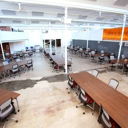 No frills, yet high-tech shared office spaces at Galvanize