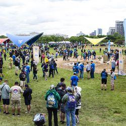 The 2019 Pokémon Go Fest kicks off in Grant Park, Thursday, June 13th, 2019.