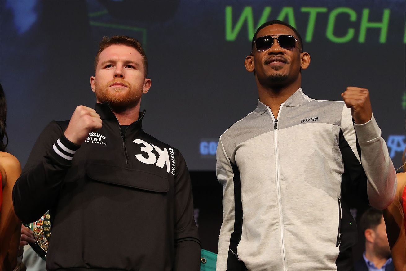 CaneloJacobsLVPC Hoganphotos4.0 - Live stream: Canelo-Jacobs weigh-in, 4:30 pm ET
