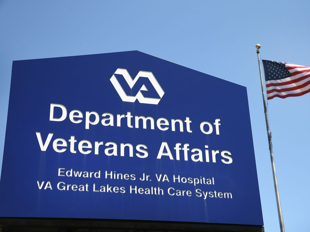 A hospital run by the Department of Veterans Affairs in Illinois.