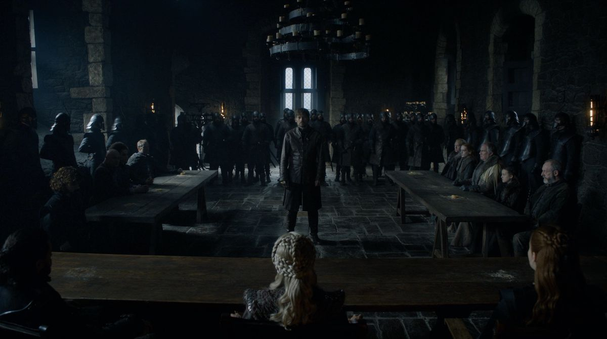 Game of Thrones S08E02 Jaime on trial