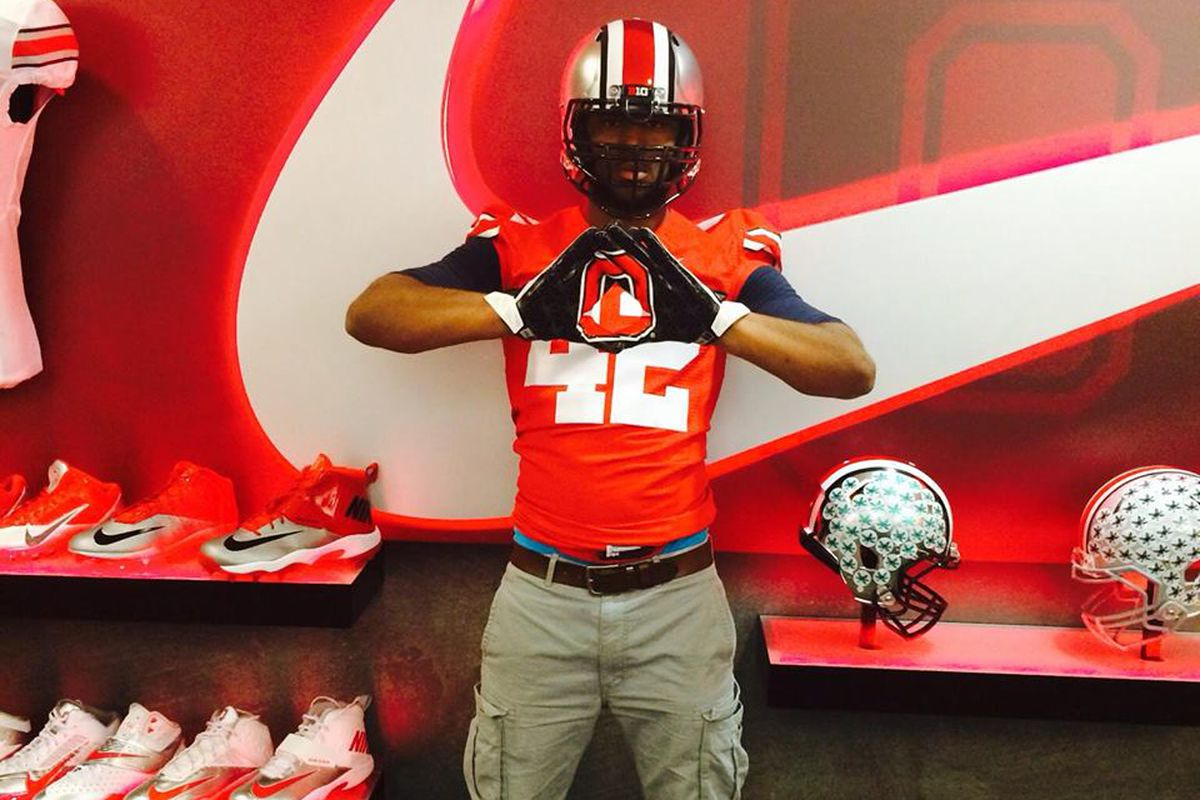 Darius Slade was the final player to sign with the Buckeyes for 2014.
