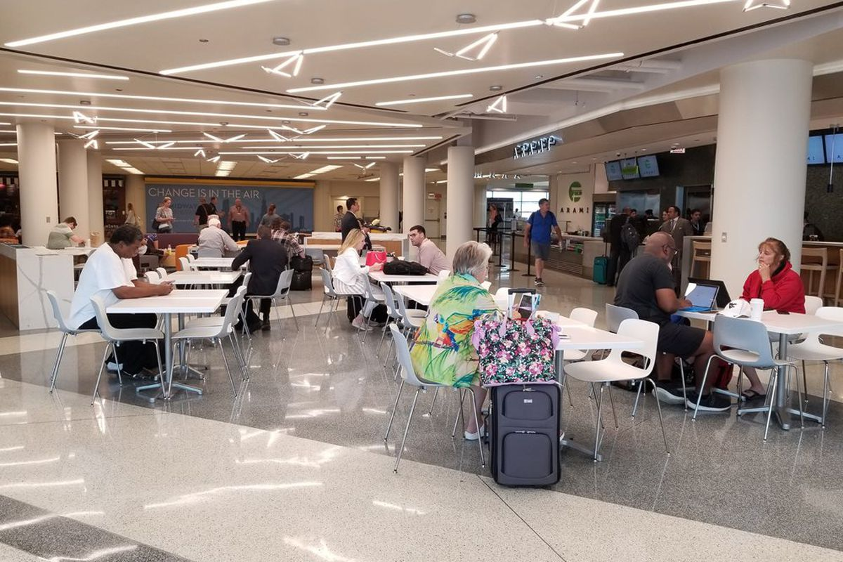 Chicagos Midway Airport Debuts New Food Court With Arami Sushi And