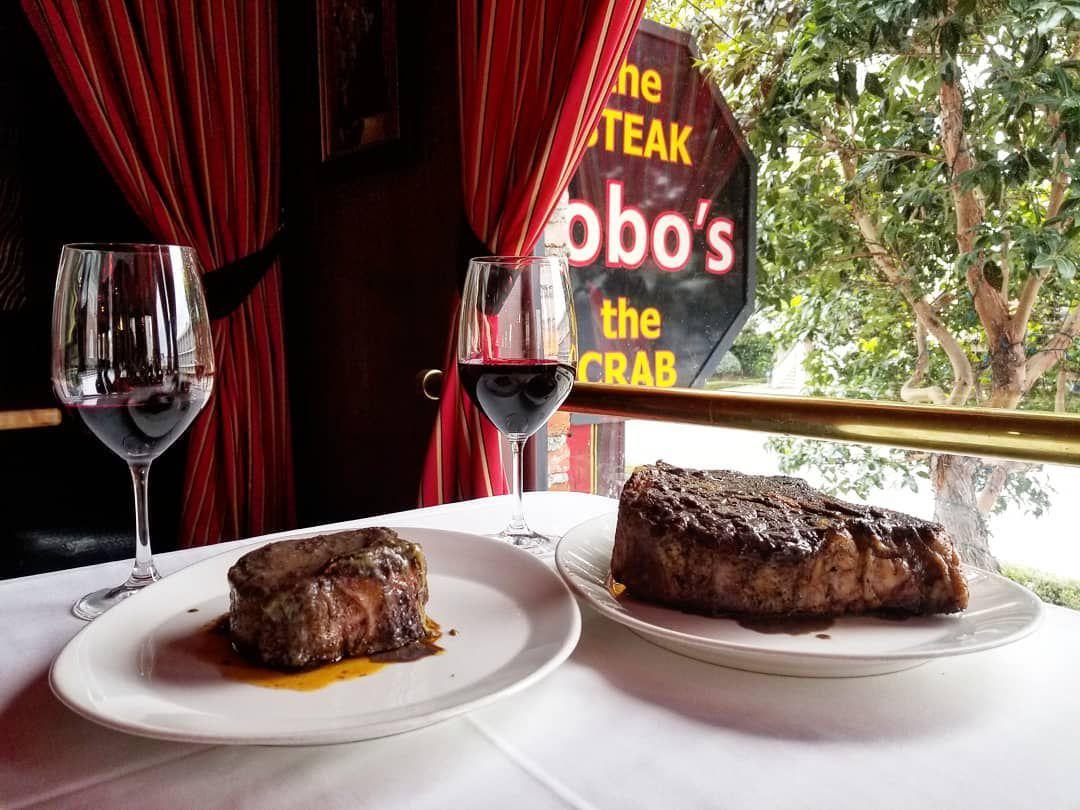 Steak at Bobo's