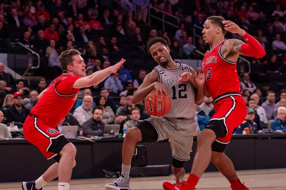COLLEGE BASKETBALL: MAR 11 Big East Tournament - St. Johns v Georgetown
