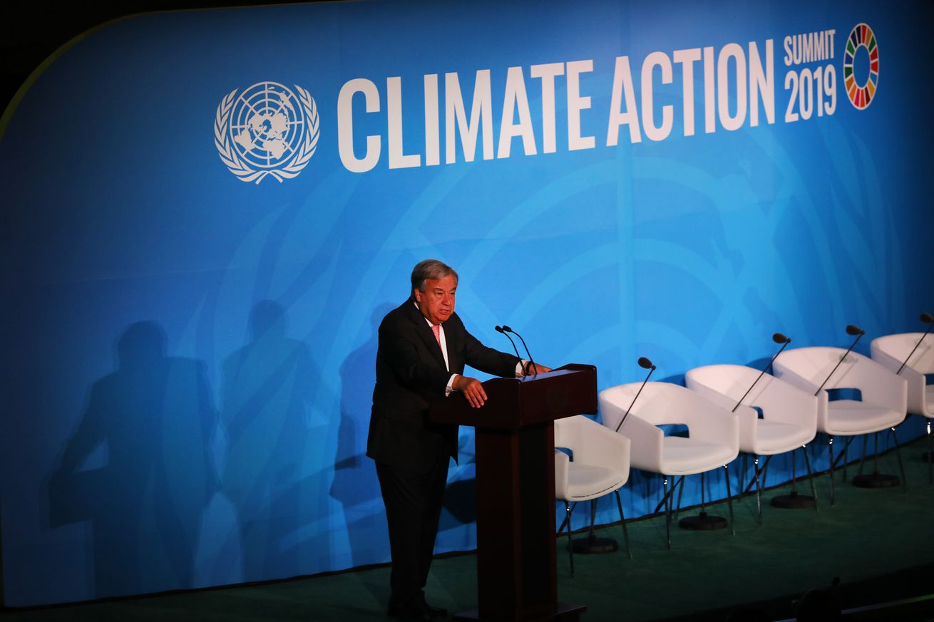 World Leaders Gather For United Nations Climate Summit