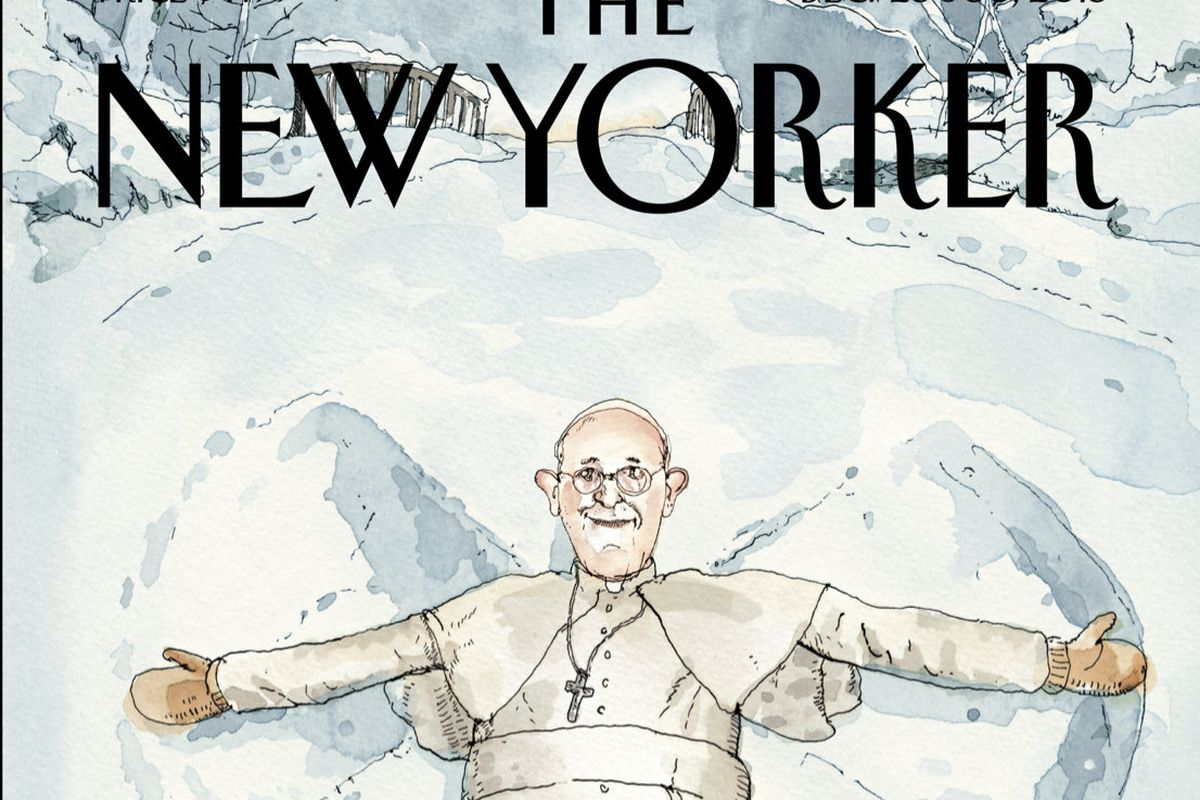 The December 23, 2013 cover of The New Yorker