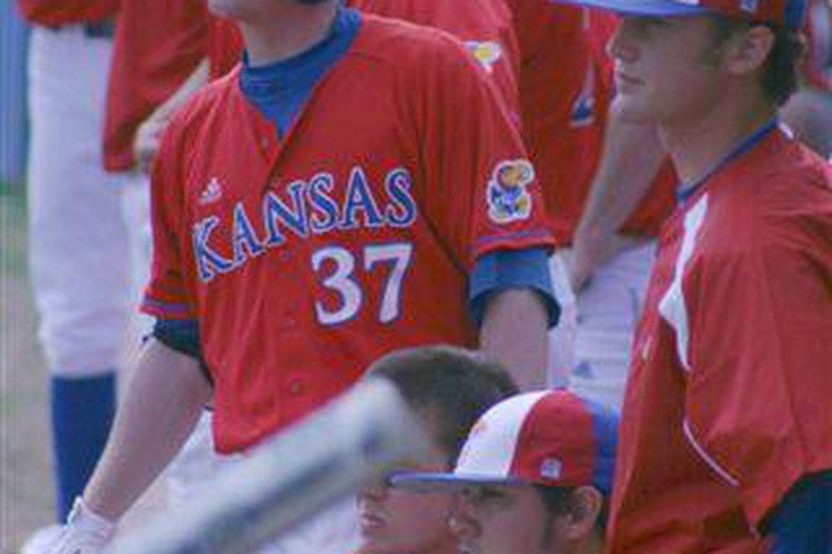 Robby Price stood out again today as a bright spot.  The KU second baseman went 3-3 with two walks and two RBIs.  Robby is on fire lately.