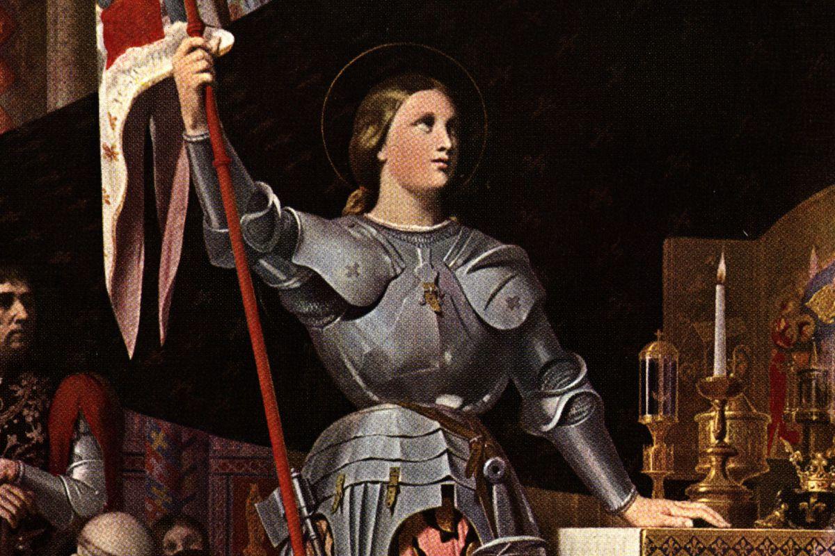 Joan In Armour