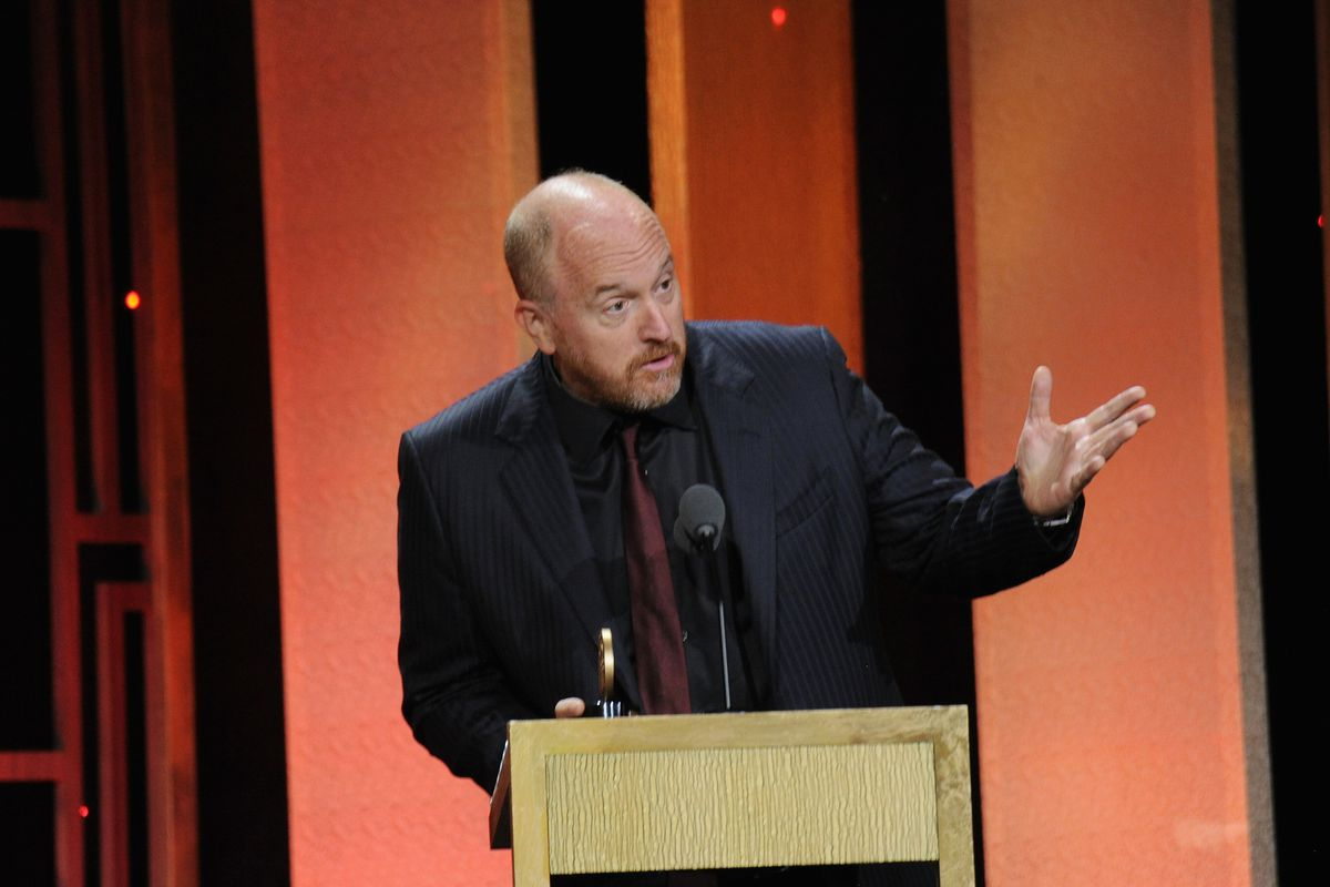 Louis C.K. at the Peabody Awards Ceremony in May 2017.        Brad Barket  Getty Images for Peabody