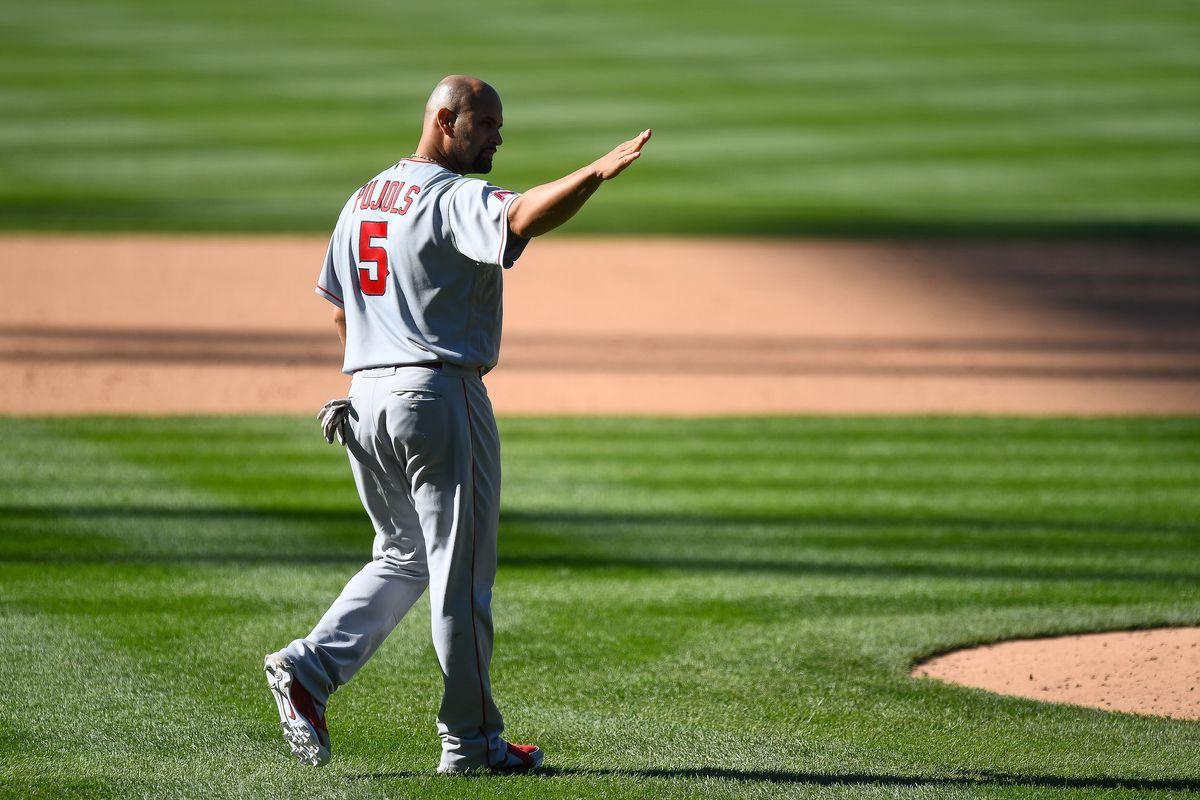 MLB: SEP 13 Angels at Rockies
