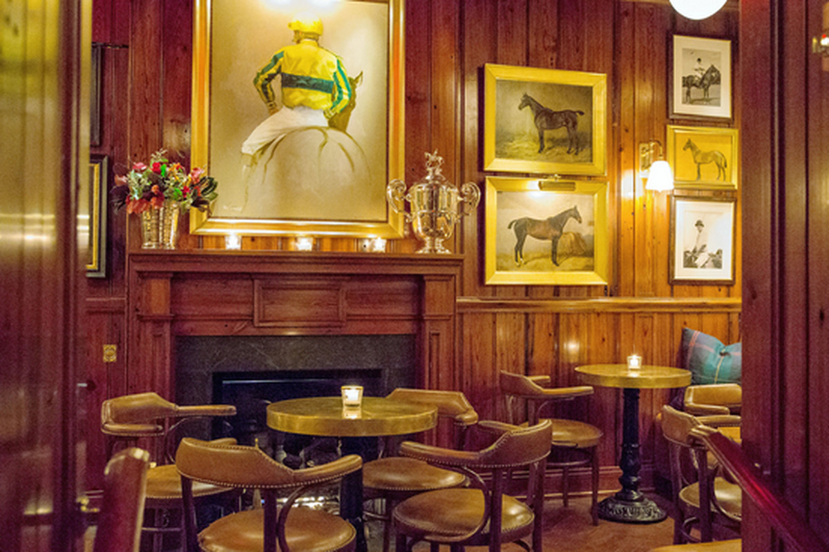 """Photo: <a href=""""http://www.nytimes.com/2014/12/10/dining/a-ralph-lauren-restaurant-the-polo-bar-comes-to-new-york.html#"""">The New York Times</a>"""
