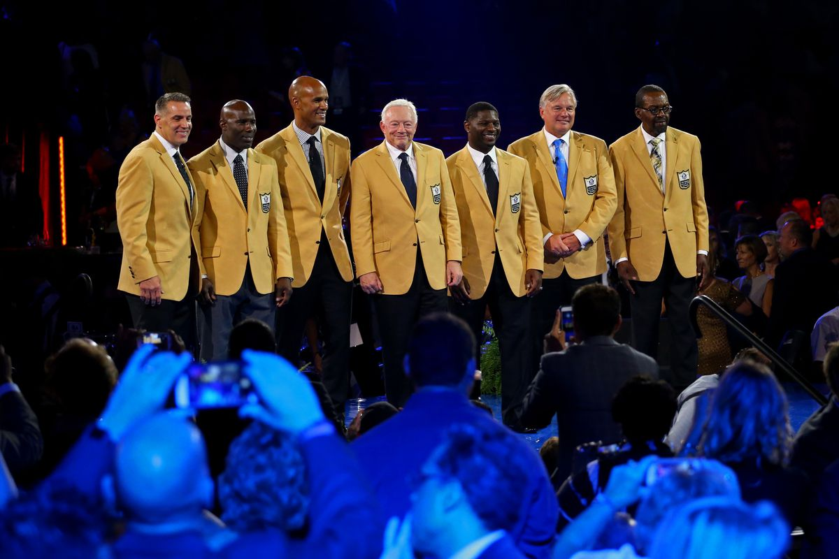 the latest 20c4e db521 2017 Pro Football Hall of Fame induction ceremony: Time, TV ...