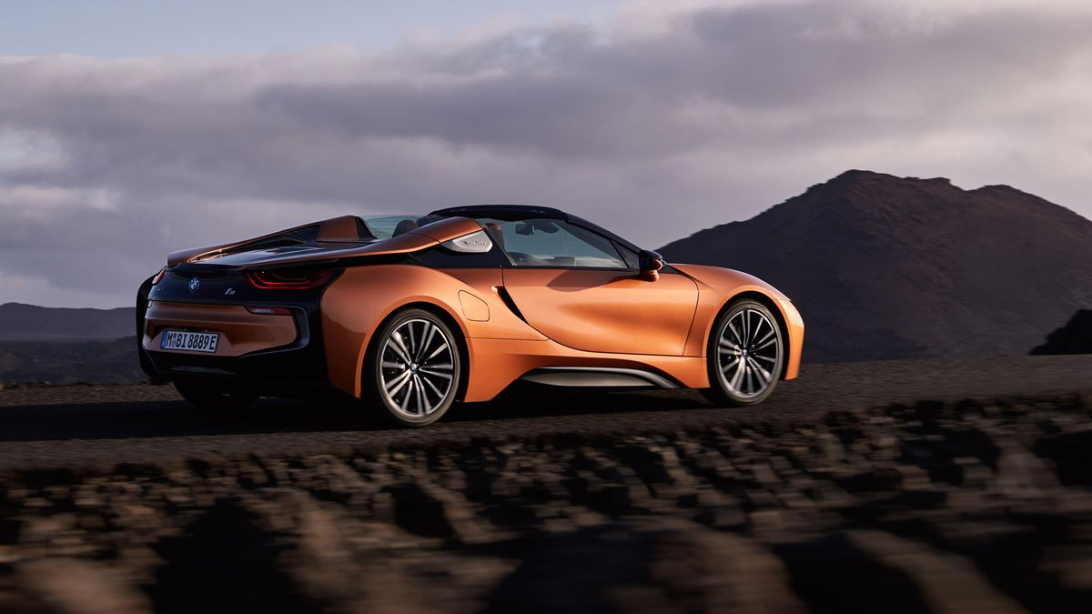 The Futuristic Bmw I8 Looks Even Better As A Convertible