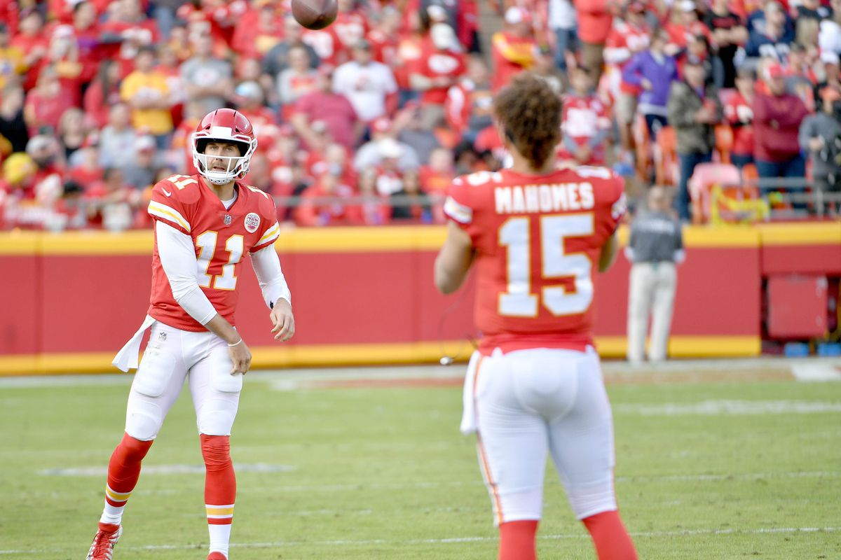 Chiefs News Alex Smith Is To Thank For Patrick Mahomes