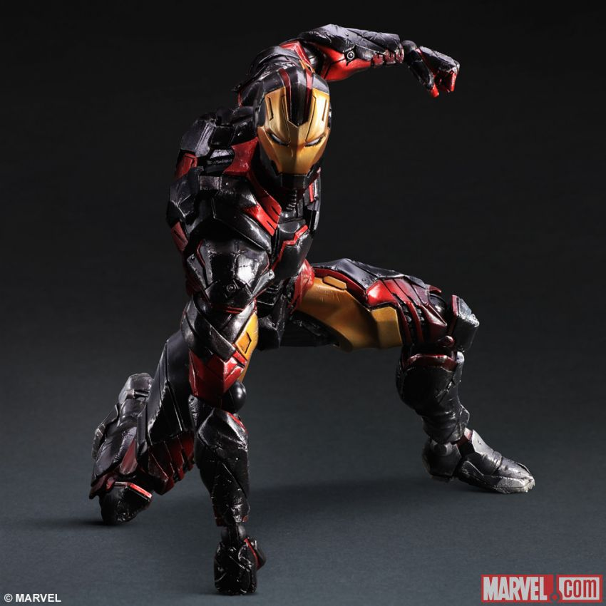 If Square Enix designed Iron Man, he'd be a ninja and look ...