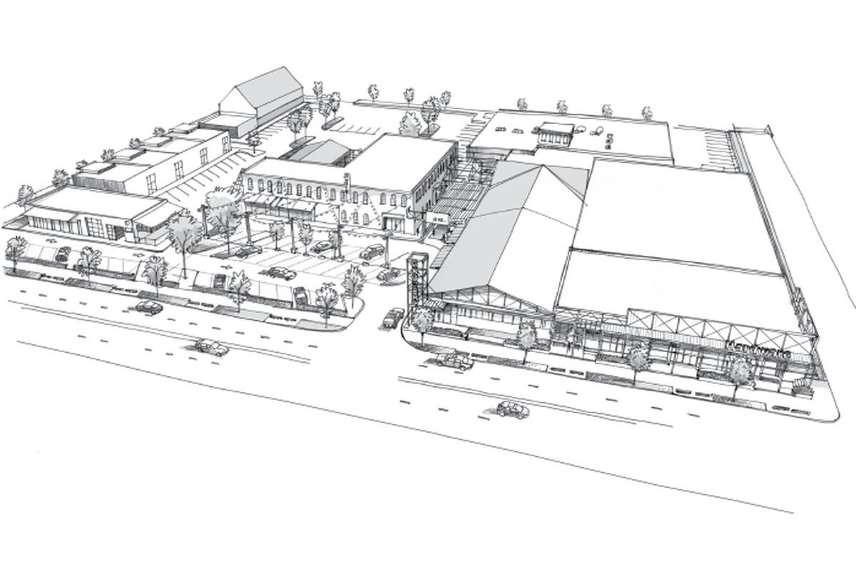 A rendering of the Larkin on Memorial development.