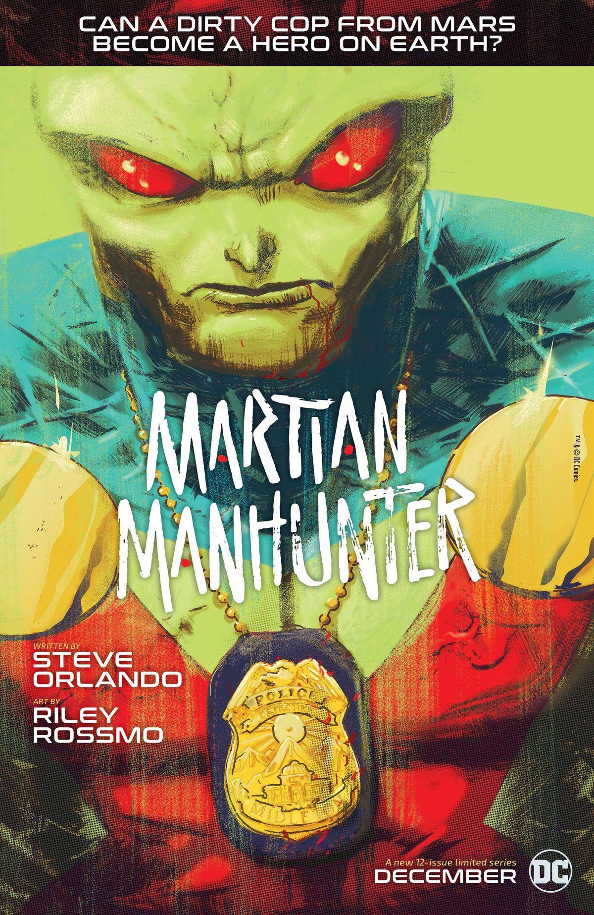 From Martian Manhunter, DC Comics (2018).