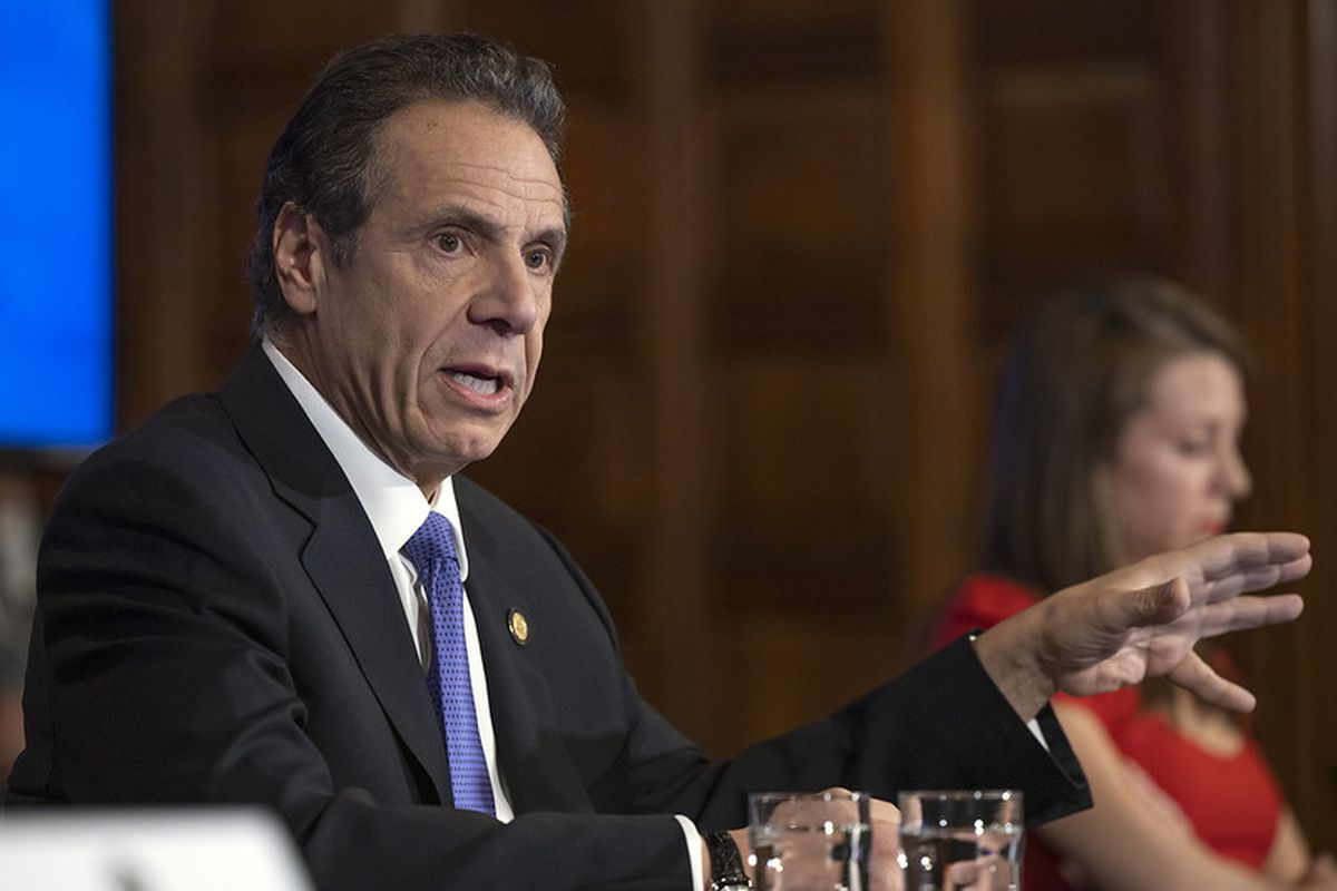 Gov. Andrew Cuomo announced Monday that school buildings across new York will remain closed through at least April 29, about two weeks longer than origianlly planned.