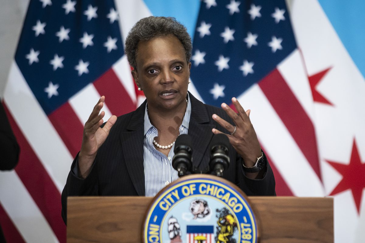 Mayor Lori Lightfoot has feuded with President Trump, the local police union president and some aldermen. But she wants to do better and listening to people she disagrees with, she said Monday.