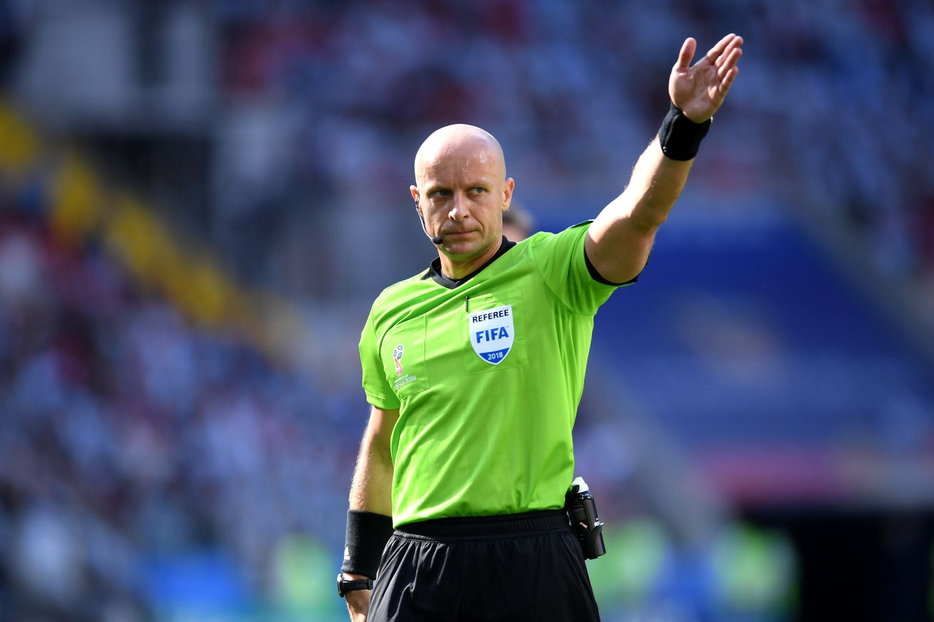 Barca may not be too happy with ref for Lyon clash