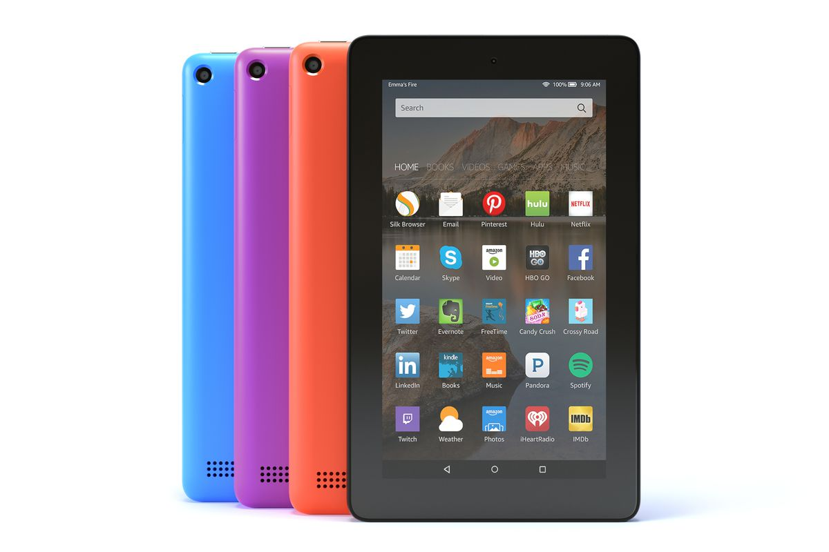 Amazon's Fire tablet now comes in four colors and with more