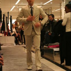 Jerrod Melman Modeling in the Cheeky Spring Fashion Show at Bloomingdale's