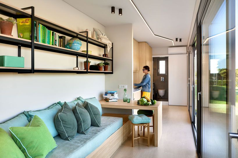 Shipping Container Home From Cocoon Modules Is Also Energy