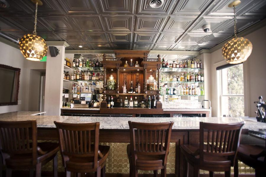 stunning tin lizzie lounge now open in queen anne - eater seattle