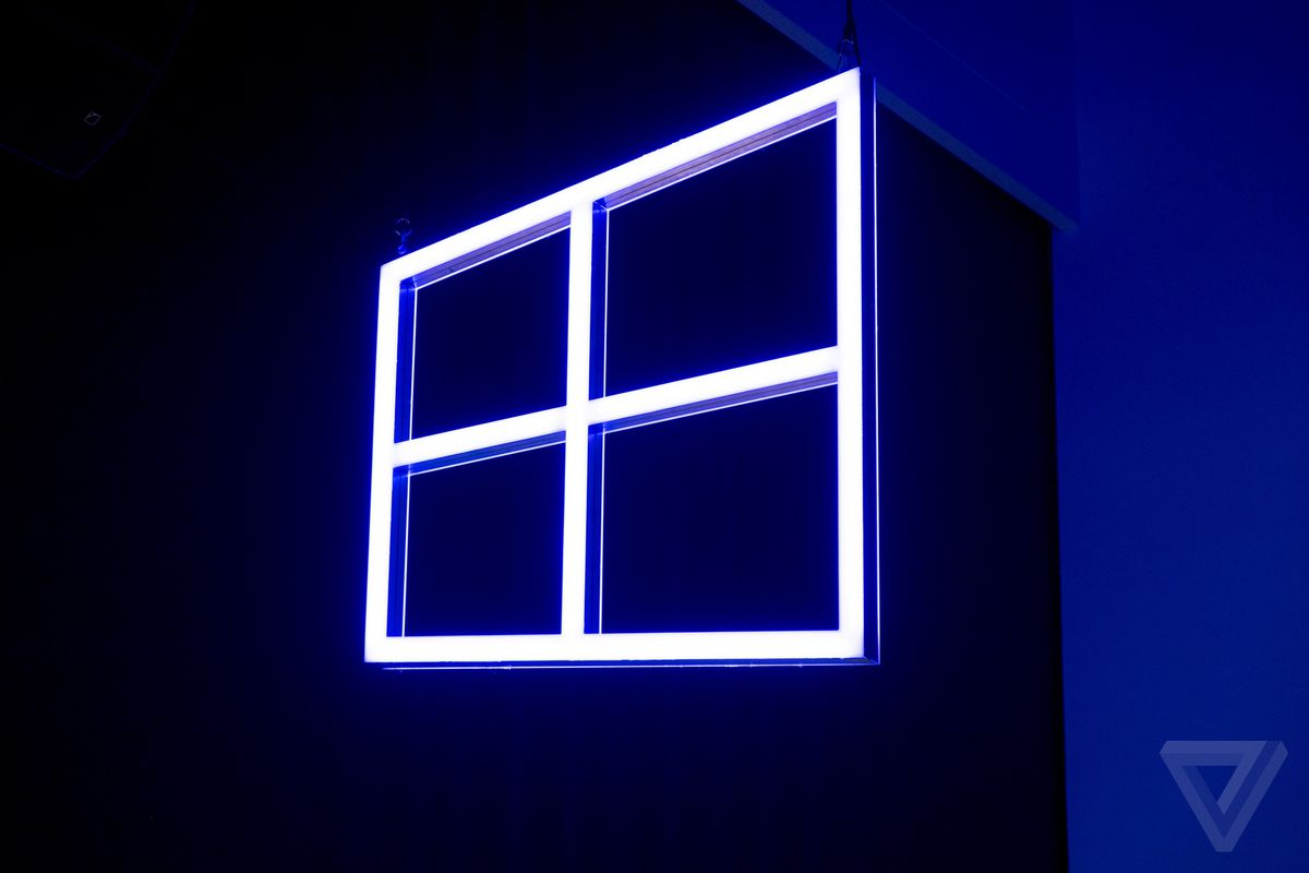 microsoft accidentally released internal windows 10 development builds the verge. Black Bedroom Furniture Sets. Home Design Ideas