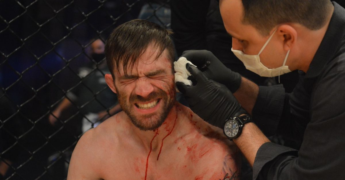 Johnny Campbell shares grisly details of ear nearly being torn off in recent fight