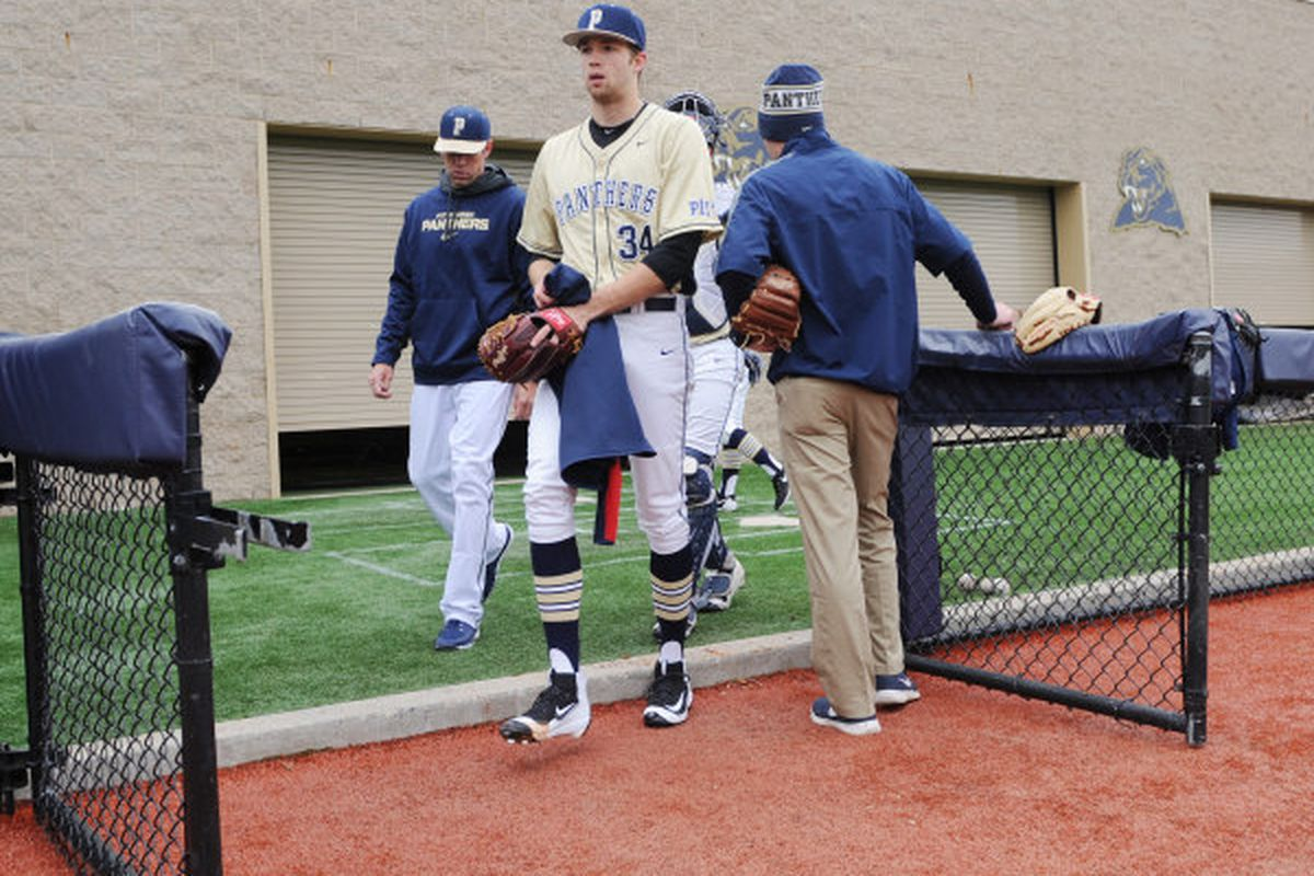 former pitt baseball star t.j. zeuch enjoying solid second season in