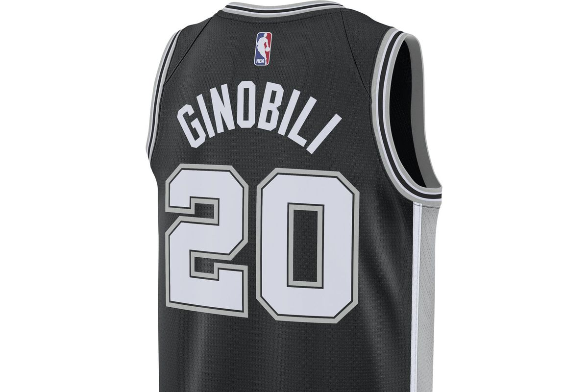 A Spurs fan can never have too many Manu Ginobili shirts