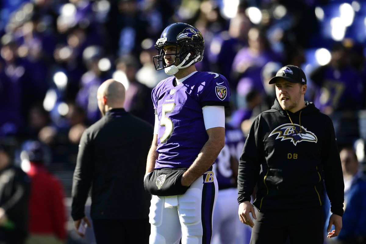 big sale dbbf7 6e94a NFL playoffs 2019: The Ravens were right to stick with Lamar ...