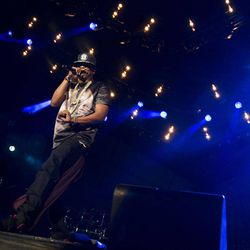 """Jay-Z performs at the """"Made In America"""" music festival on Saturday, Sept. 1, 2012, in Philadelphia, PA."""