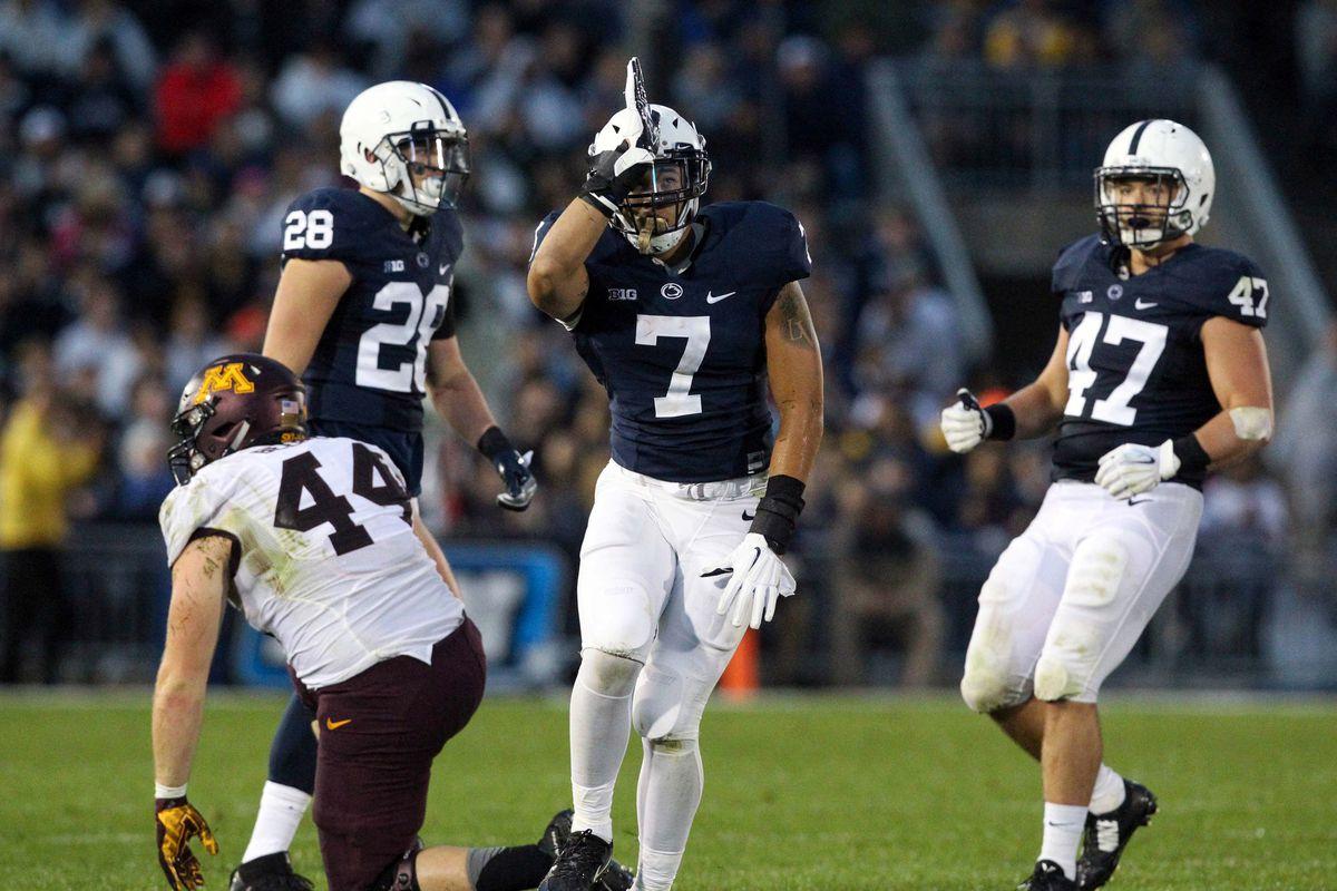 NCAA Football: Minnesota at Penn State
