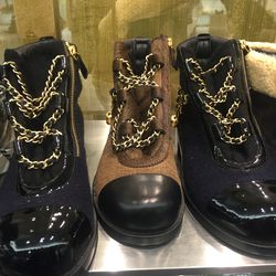 Chanel boots, $1,049