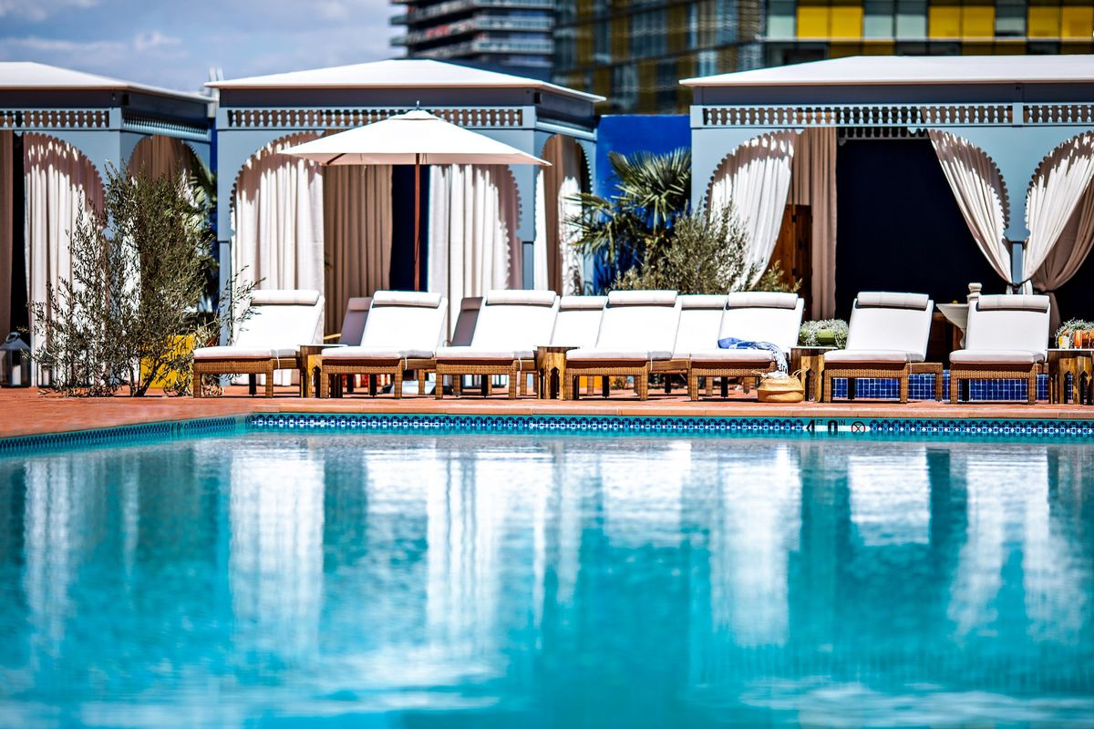 Nomad Launches A Pool Party In April Eater Vegas