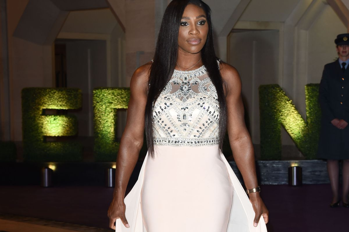 Serena Williams attends the Wimbledon Champions Dinner at the Guildhall on July 12, 2015, in London, England.