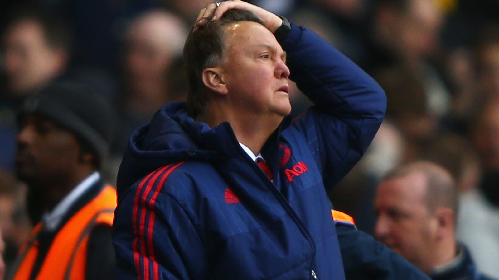 What on earth was Louis van Gaal thinking?