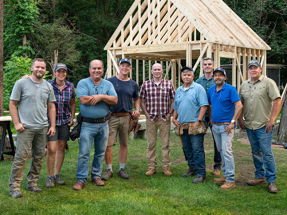 The cast of Season 20 of Ask This Old House